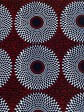 Tote wax & jean, Wax tribal bleu, tote bag wax, Tissu africain