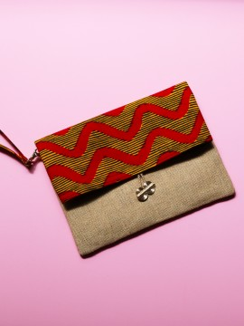 POCHETTE WAX CALCUTTA